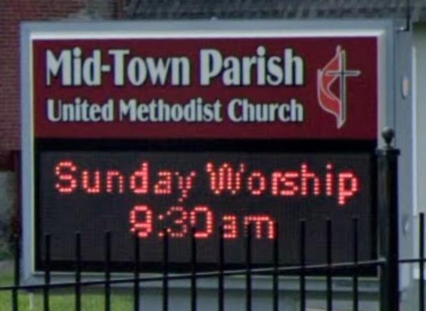 Midtown Parish Sign