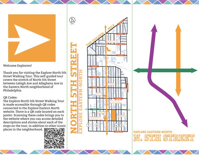 Explore North 5th Street Tour Brochure
