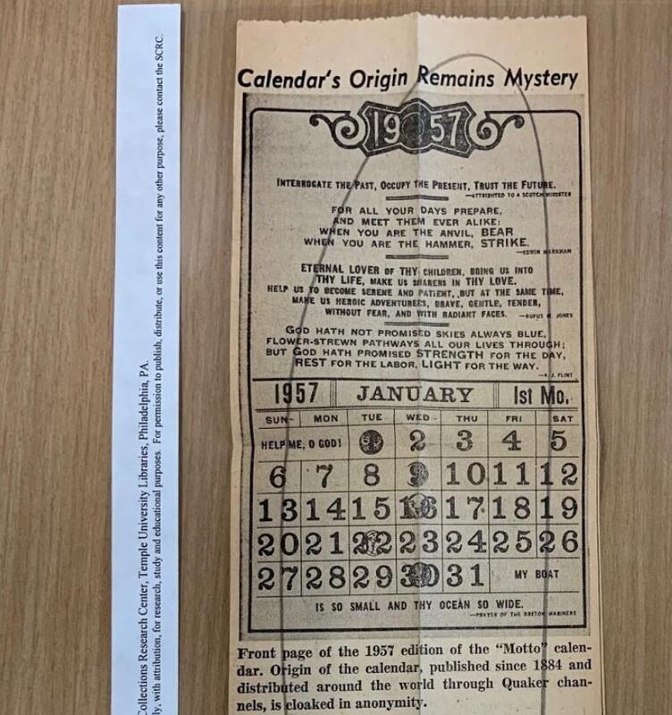 Zabel calendar