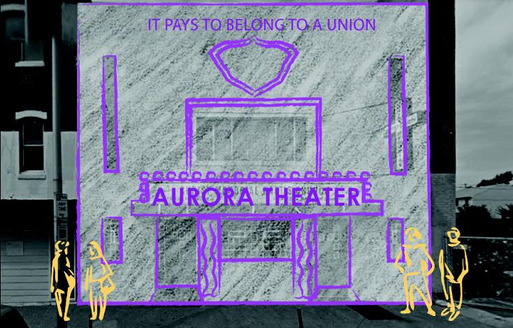 Aurora Theater Illustration