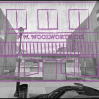 Woolworth's Poster Drawing